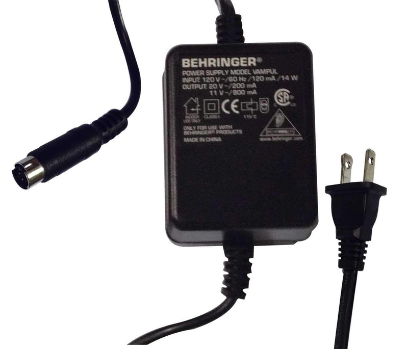 Behringer PSU8-UL 120V Replacement Power Supply - PSSL ProSound and Stage Lighting