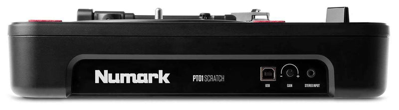 Numark PT01 Scratch Portable Turntable - PSSL ProSound and Stage Lighting