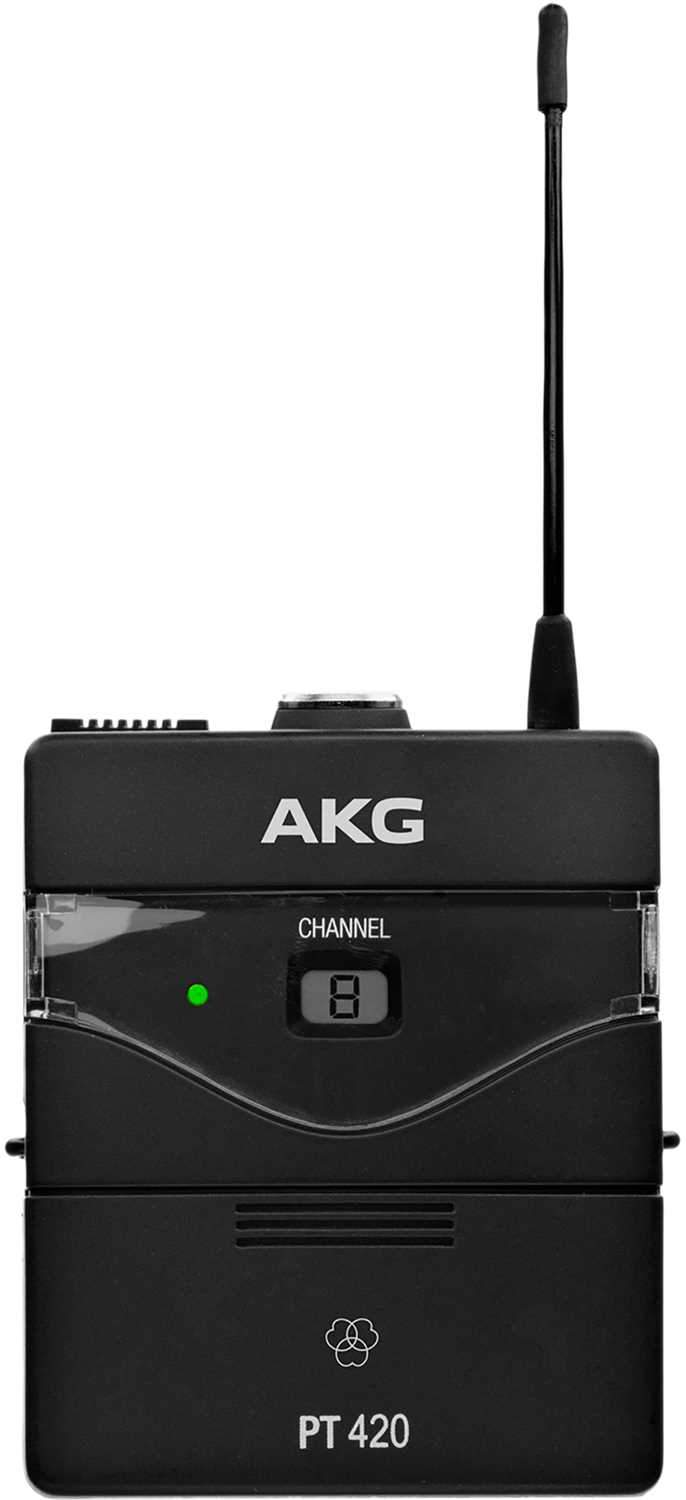 AKG PT420 Bodypack Transmitter for WMS420 - BD U2 - PSSL ProSound and Stage Lighting