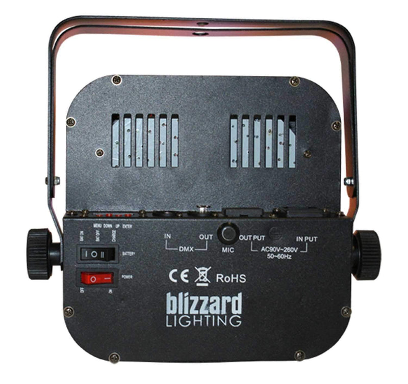 Blizzard The Puck RGBA Unplugged 144x10mm Flat Par - PSSL ProSound and Stage Lighting