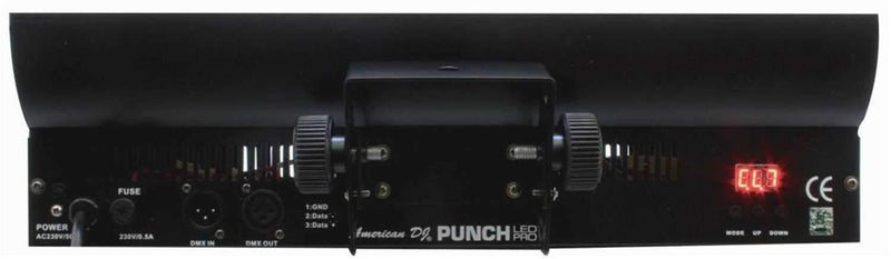 American DJ PUNCH-LED-PRO RGB LED Light with Display - PSSL ProSound and Stage Lighting