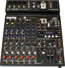 Peavey PV 10 AT 8-Channel Mixer with Autotune - PSSL ProSound and Stage Lighting