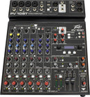 Peavey PV 10 BT 8-Channel Mixer with Bluetooth - PSSL ProSound and Stage Lighting