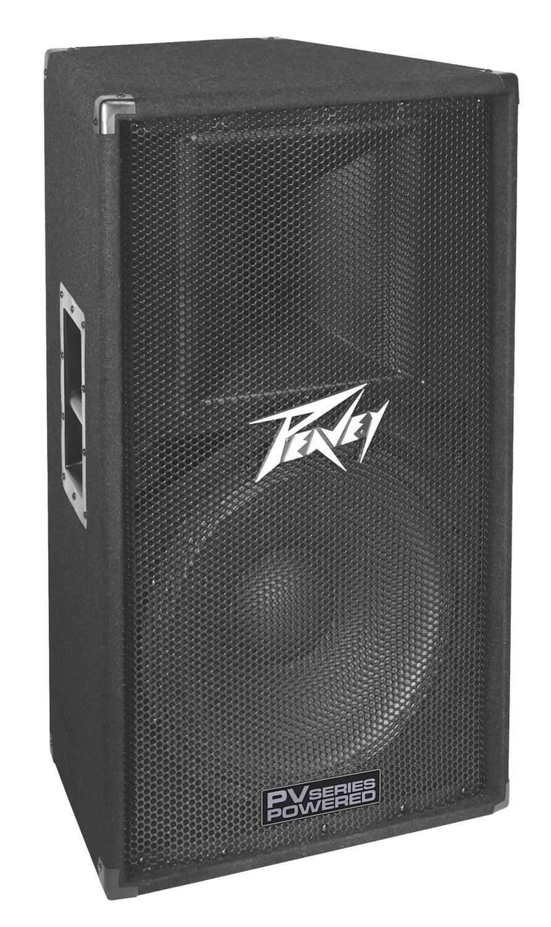 Peavey PV115D 15-Inch 2-Way Powered PA Speaker - PSSL ProSound and Stage Lighting