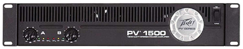 Peavey PV1500 Pv Series Power Amplifier - PSSL ProSound and Stage Lighting