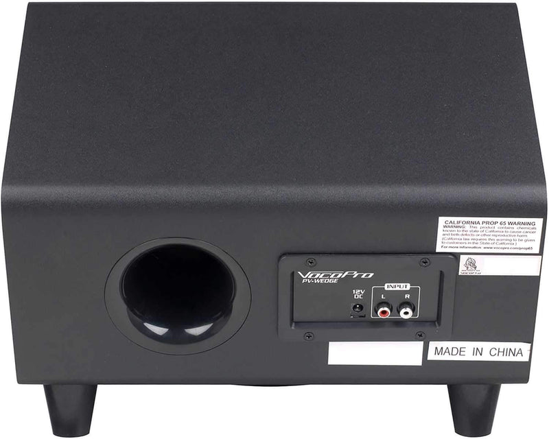 VocoPro PV-WEDGE 100W PA System with Sub - PSSL ProSound and Stage Lighting