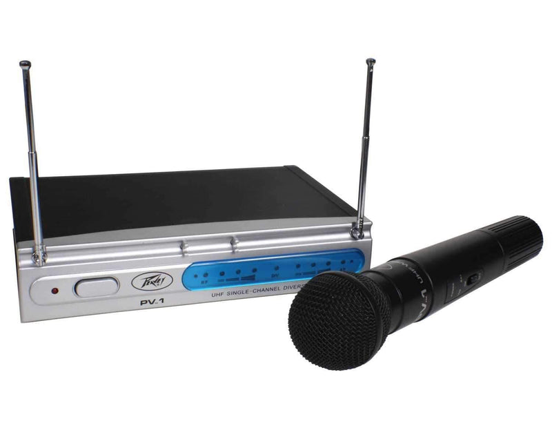 Peavey PV1 U1 UHF Wireless Handheld Mic System - PSSL ProSound and Stage Lighting