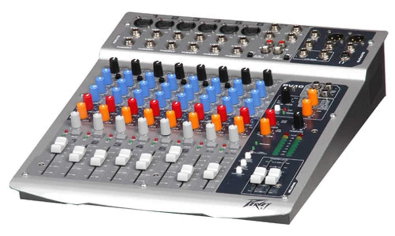 Peavey PV10 10-Ch Compact Mixer with Fx - PSSL ProSound and Stage Lighting