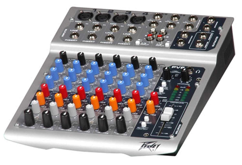 Peavey PV8 8-Ch Compact Mixer - PSSL ProSound and Stage Lighting