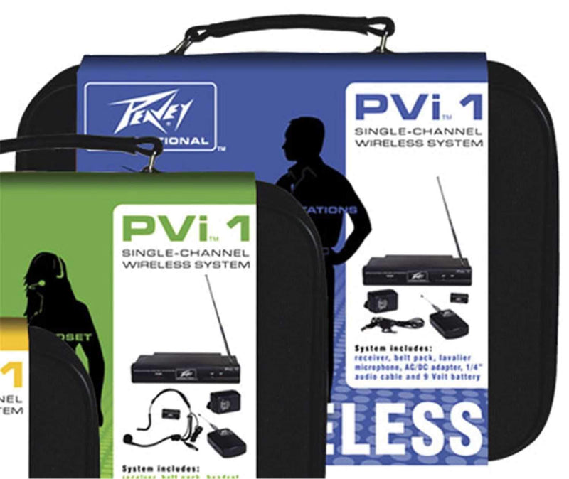 Peavey VHF Lavalier Wireless System - PSSL ProSound and Stage Lighting