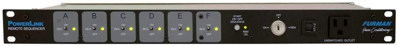 Furman PWRLINK Remote AC Sequence Controller - PSSL ProSound and Stage Lighting