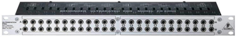 Behringer PX2000 48 Point Switchable Patchbay - PSSL ProSound and Stage Lighting