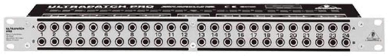 Behringer PX3000 48-Point Balanced Patchbay - PSSL ProSound and Stage Lighting