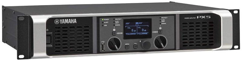 Yamaha PX5 Power Amplifier - PSSL ProSound and Stage Lighting