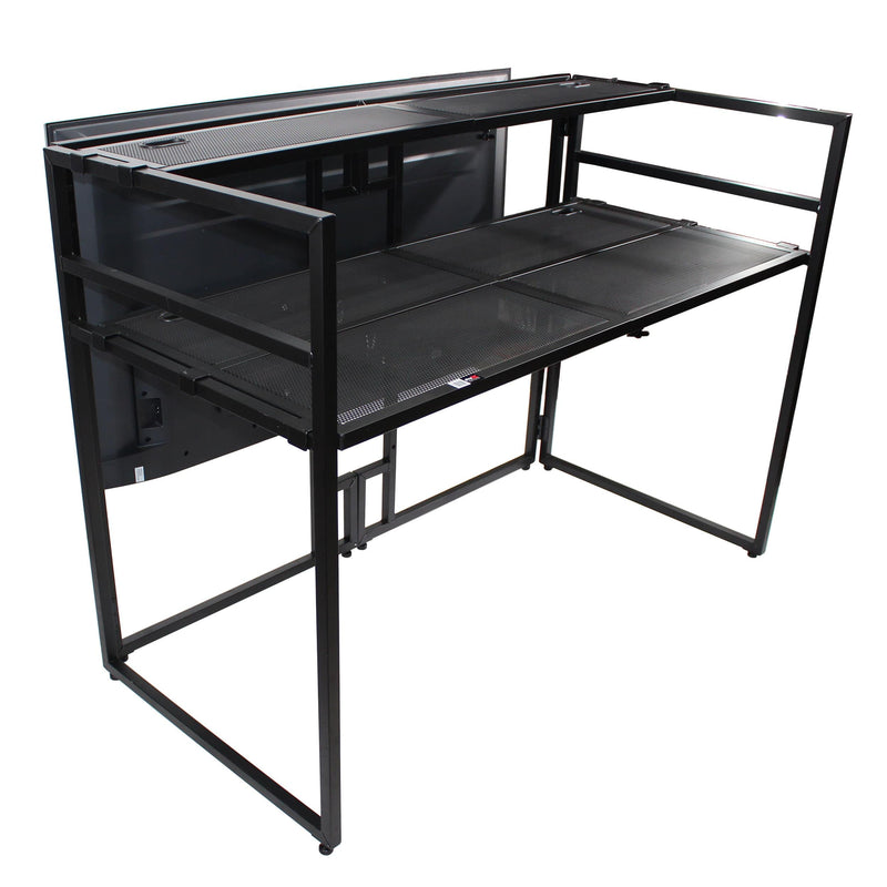 ProX Mesa Media MK2 DJ Facade Table And Workstation - PSSL ProSound and Stage Lighting