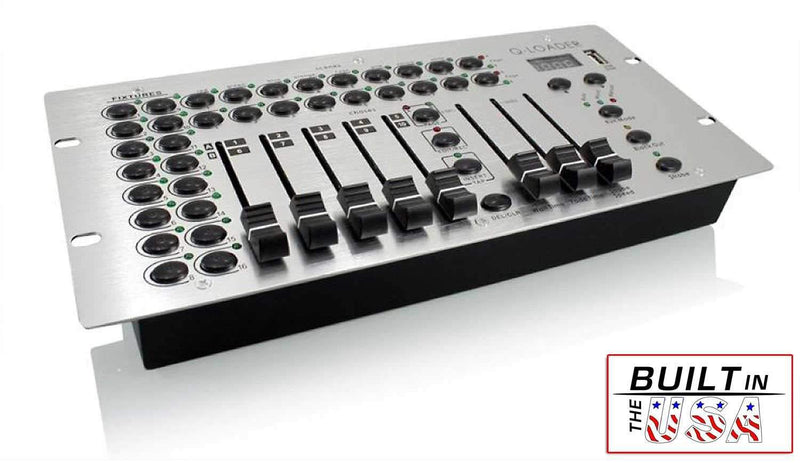 Mega Lite Q-LOADER RGB DMX Lighting Controller - PSSL ProSound and Stage Lighting