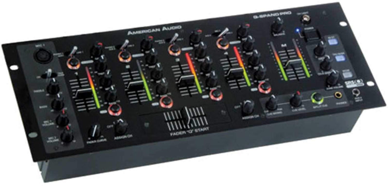 American Audio Q-SPAND-Pro Mixer with Sonic Enhance - PSSL ProSound and Stage Lighting