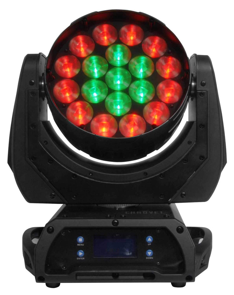 Chauvet Q Wash 419Z LED Moving Yoke Wash Light - PSSL ProSound and Stage Lighting