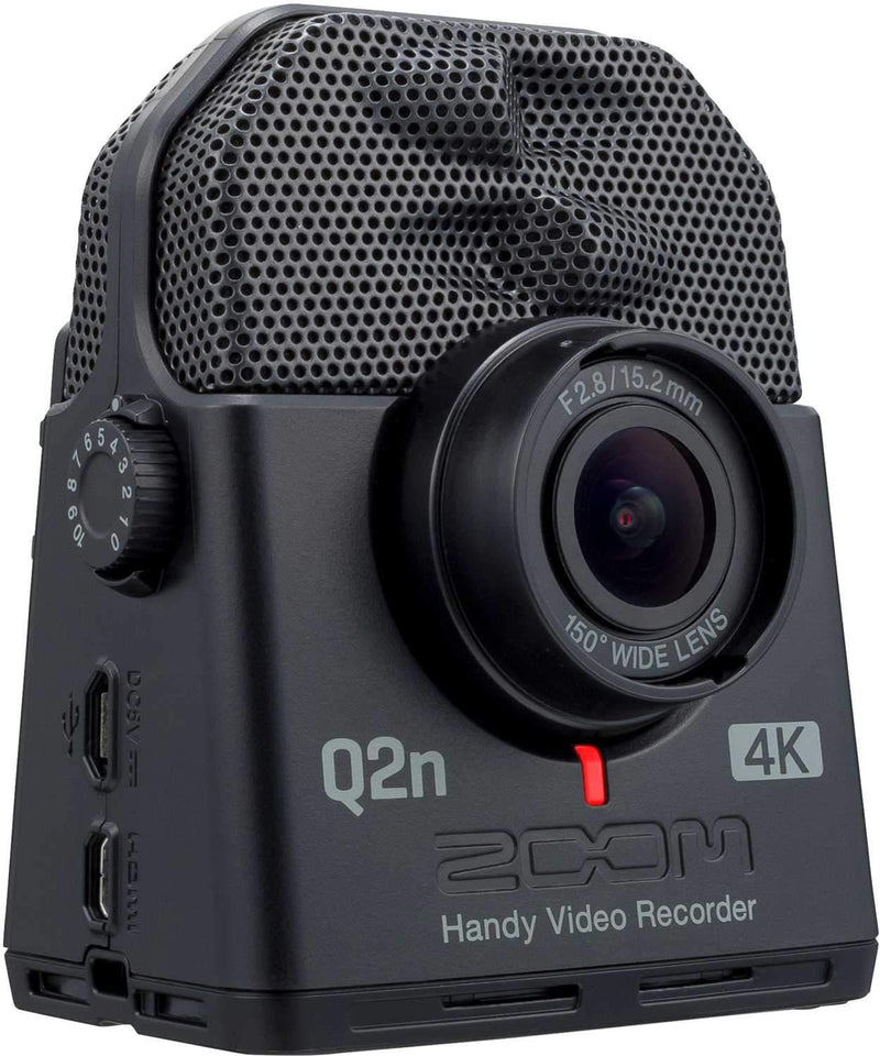 Zoom Q2n-4K Ultra HD Handy Video Recorder - PSSL ProSound and Stage Lighting