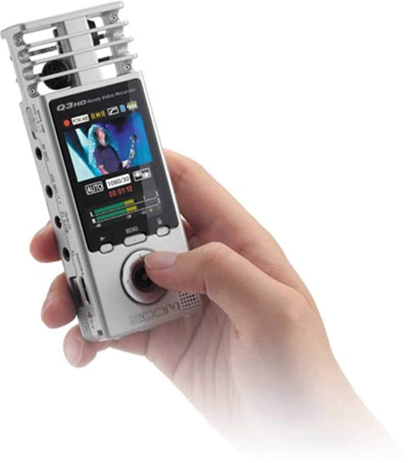 ZOOM Q3HD - Ultra Portable Audio/Video HD Recorder - PSSL ProSound and Stage Lighting