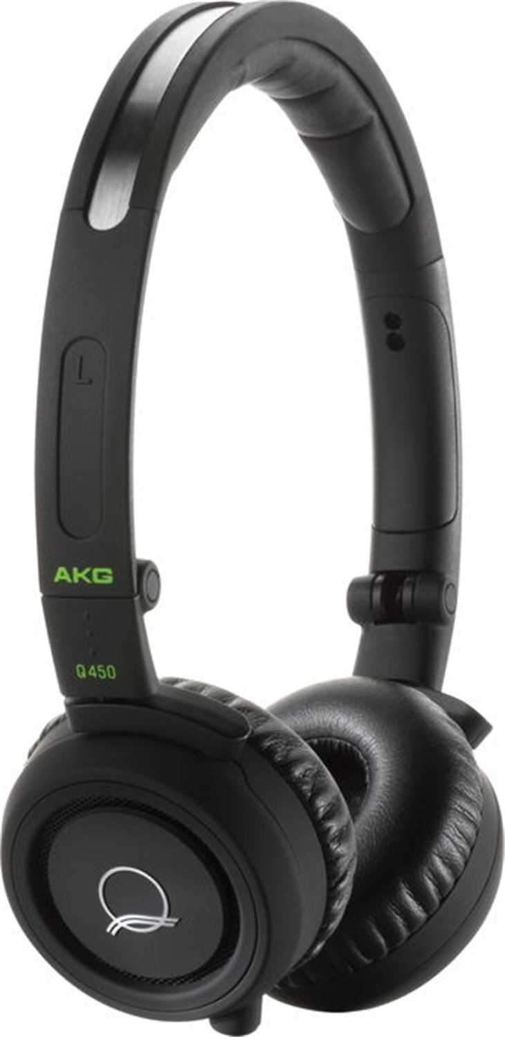 AKG Q460BLACK Quincy Jones Pro Headphones - Black - PSSL ProSound and Stage Lighting