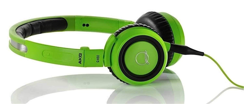 AKG Q460GREEN Quincy Jones Pro Headphones - Green - PSSL ProSound and Stage Lighting