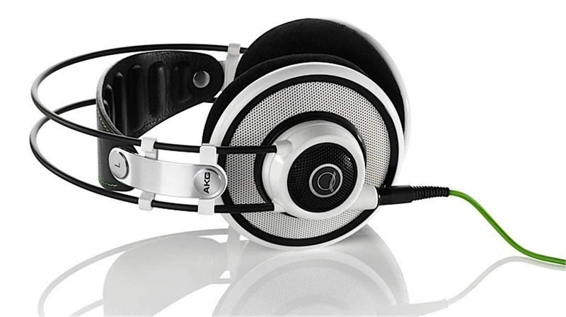 AKG Q701WHITE Quincy Jones Stereo Headphones - Wht - PSSL ProSound and Stage Lighting