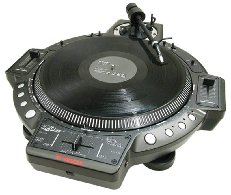 Vestax QFO Le Turntable With Mixer Combo - PSSL ProSound and Stage Lighting