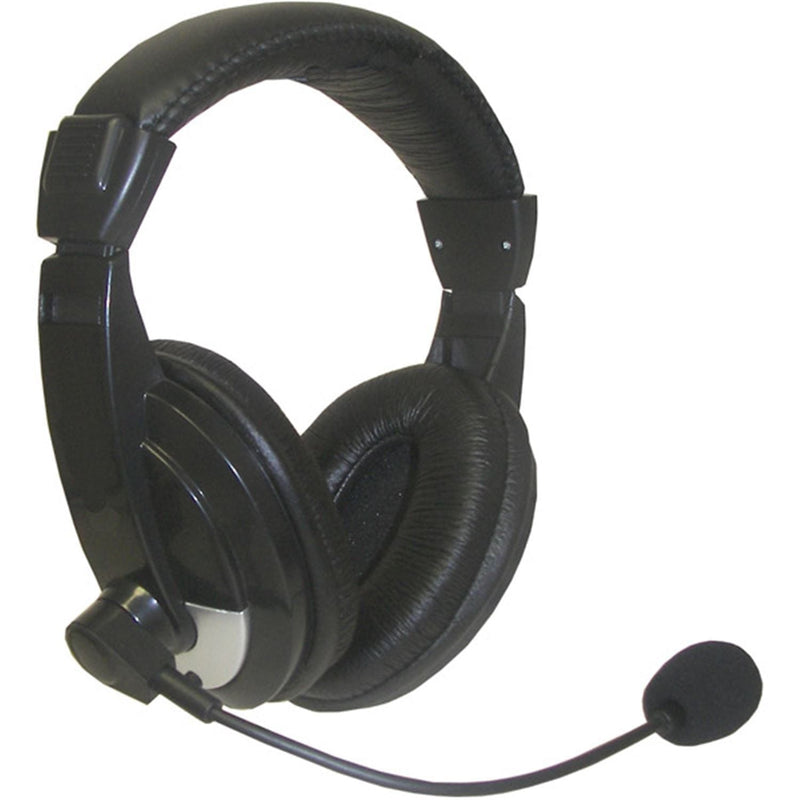 Nady QHM-100 Pro Headphones with Boom Microphone - PSSL ProSound and Stage Lighting