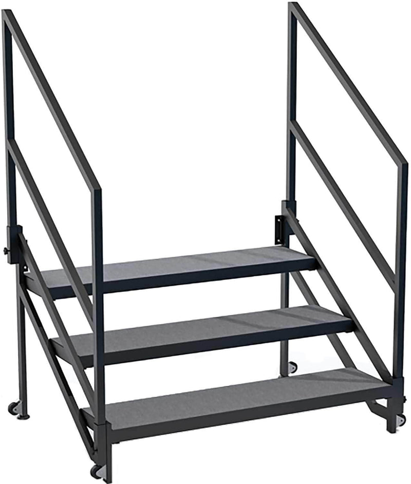 IntelliStage QuickLock Stair System 24-Inch Stages - PSSL ProSound and Stage Lighting