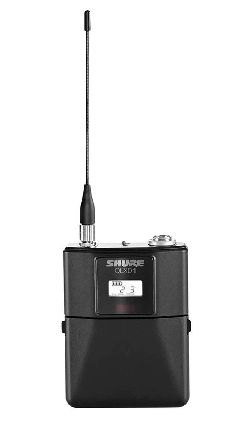 Shure QLXD1483 Wireless Lavalier Mic with Wl183 H50 - PSSL ProSound and Stage Lighting
