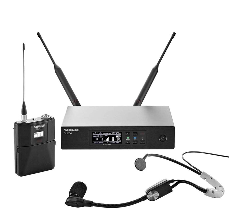 Shure QLXD Wireless Headset Mic System with SM35 V50 - PSSL ProSound and Stage Lighting