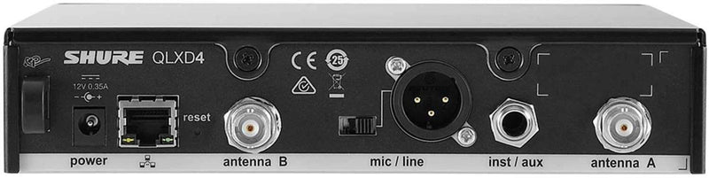 Shure QLXD24B87A Wireless Vocal Mic with Beta87a H50 - PSSL ProSound and Stage Lighting
