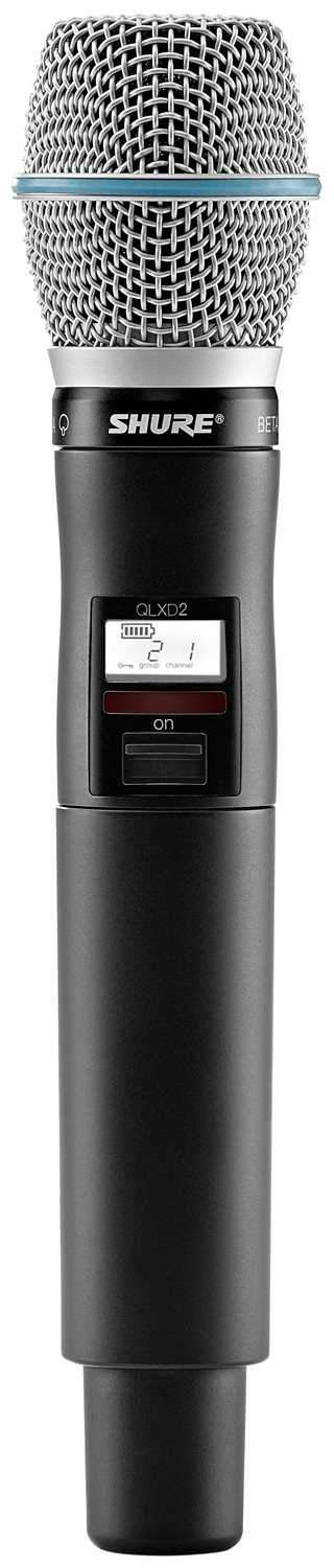Shure QLXD Beta 87 Handheld Wireless Transmitter - PSSL ProSound and Stage Lighting