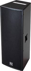 Electro-Voice QRX-212/75 Black Dual 12-Inch Passive Speaker - PSSL ProSound and Stage Lighting