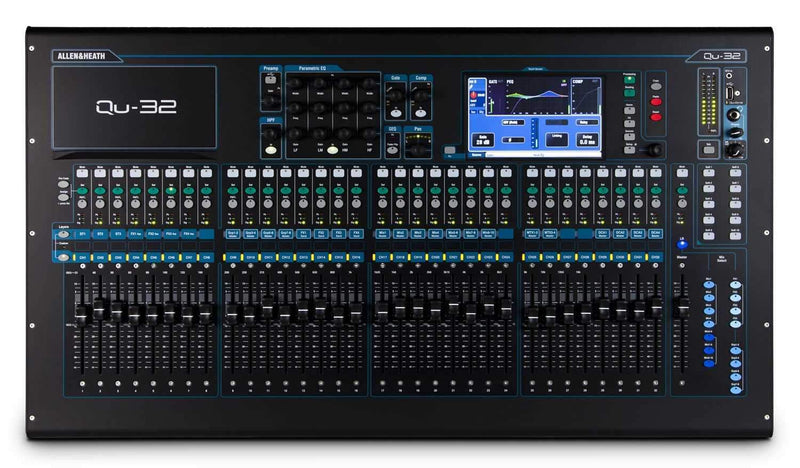Allen & Heath QU-32 32-Channel Digital Mixer - PSSL ProSound and Stage Lighting