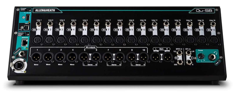 Allen & Heath Qu-SB Portable Digital Mixer - PSSL ProSound and Stage Lighting