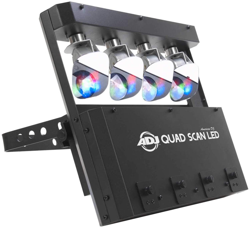 American DJ Quad Scan LED 4 x 3 Watt RGB Scanner - PSSL ProSound and Stage Lighting