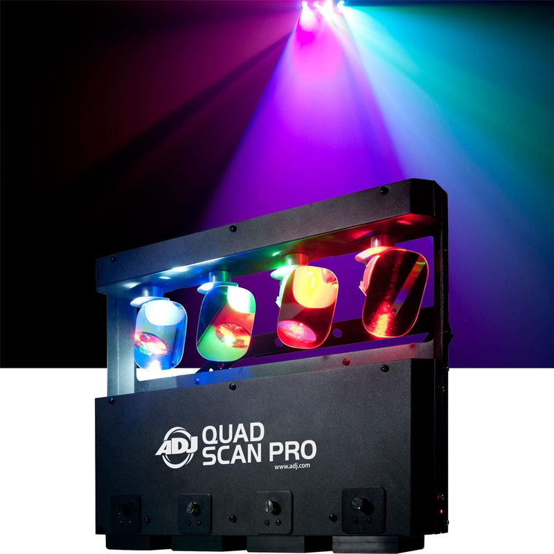 American DJ Quad Scan Pro 4x LED Scan Effect Light - PSSL ProSound and Stage Lighting