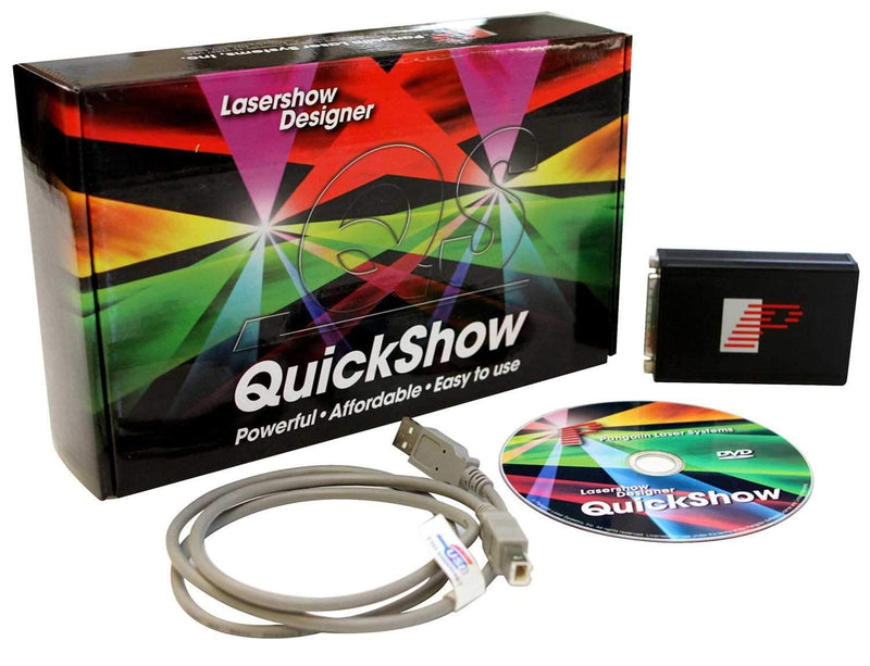 Pangolin QuickShow XL Laser Control Software - PSSL ProSound and Stage Lighting