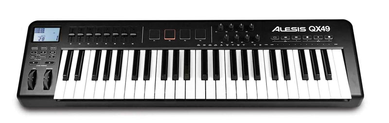 Alesis QX49 49 Key Midi Controller With Pads & USB - PSSL ProSound and Stage Lighting