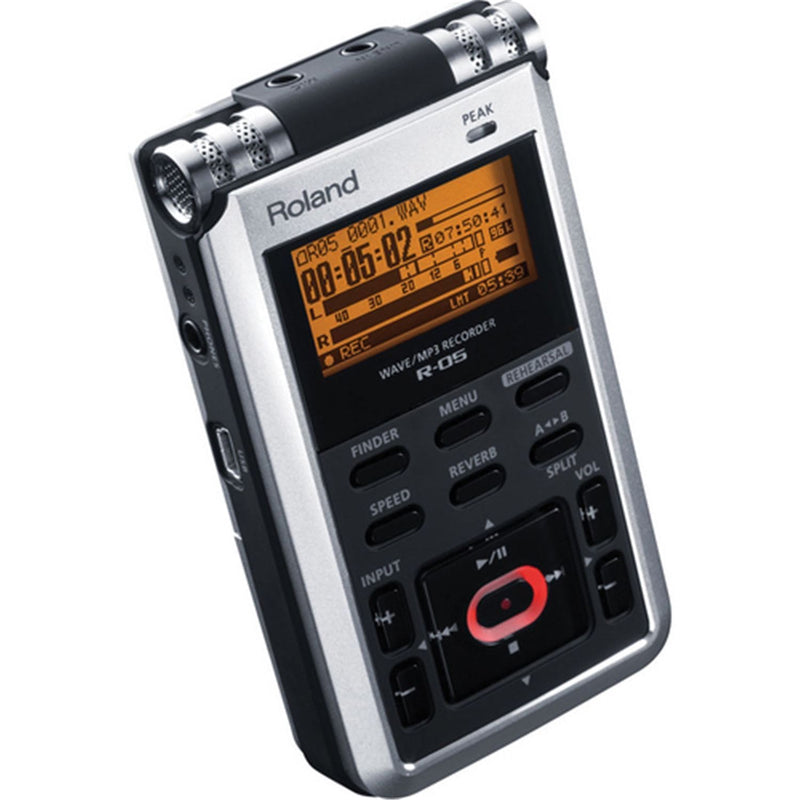 Roland R-05 Portable WAVE/ MP3 Recorder - PSSL ProSound and Stage Lighting