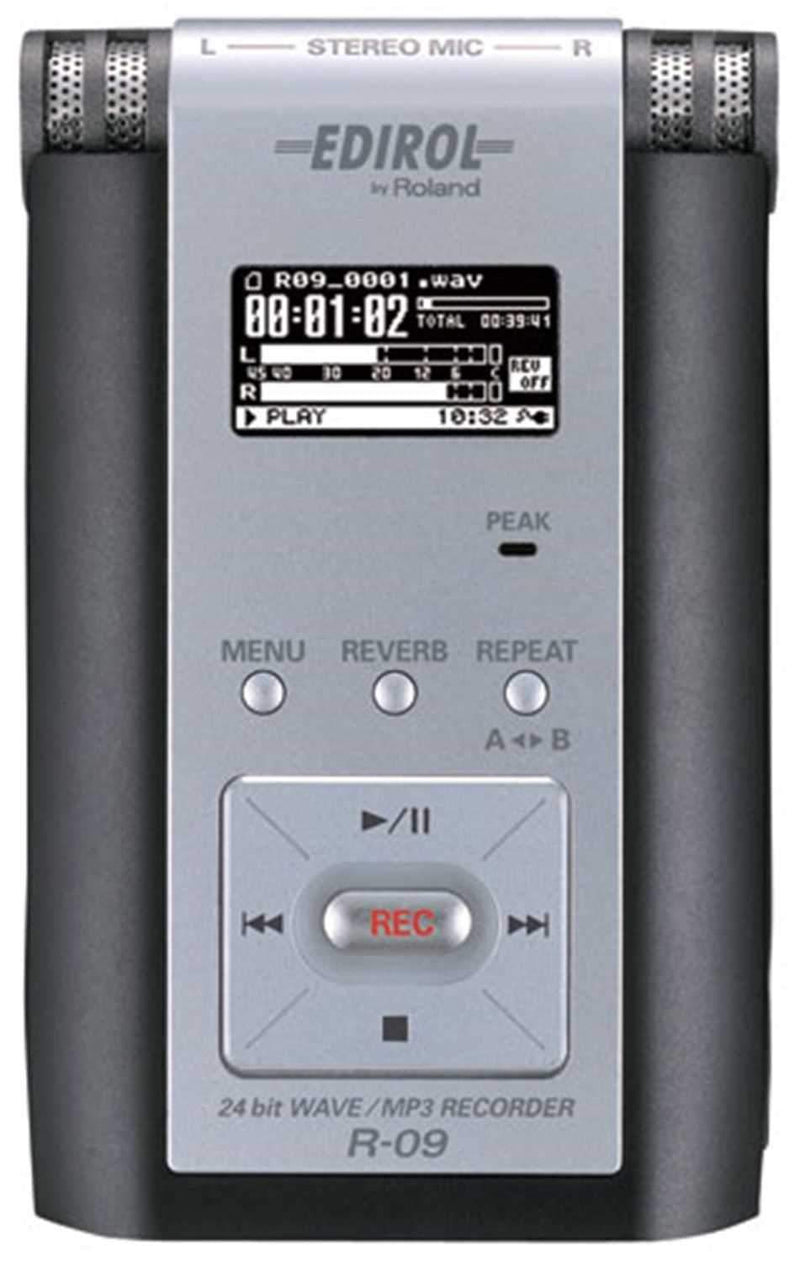 Edirol R-09 Compact 24-Bit Wav/Mp3 Recorder - PSSL ProSound and Stage Lighting