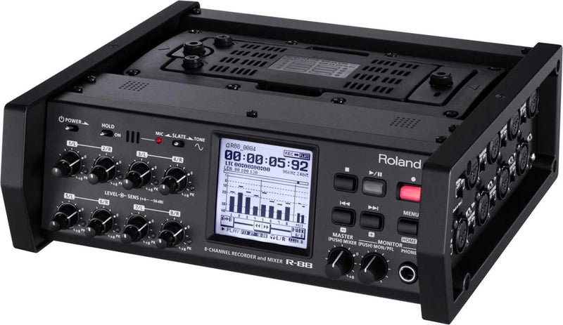 Roland R88 8 Channel Pro Recorder And Mixer - PSSL ProSound and Stage Lighting