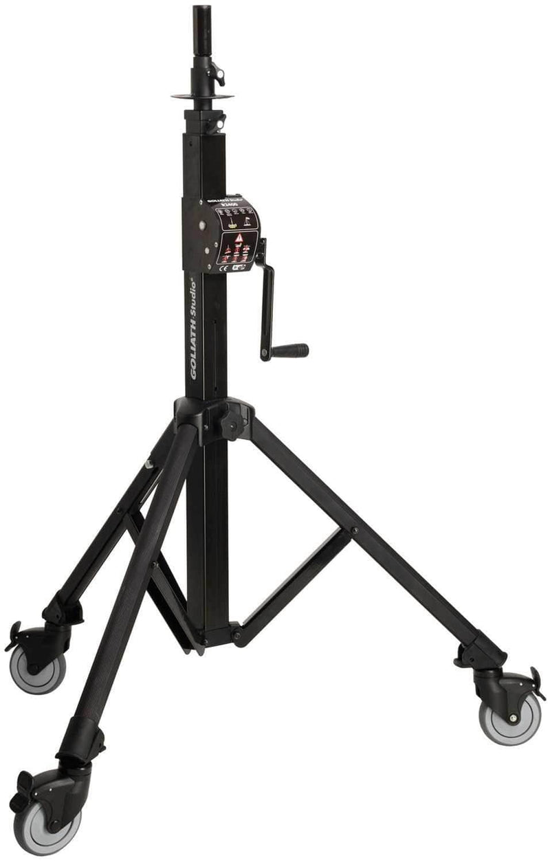 Goliath Medium Duty Direct Drive Crank Stand - PSSL ProSound and Stage Lighting