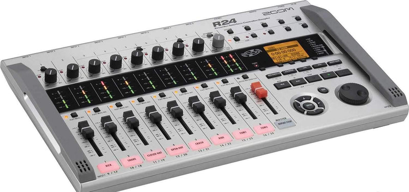 Zoom R24 24 Track Portable Recorder/ Drum Machine - PSSL ProSound and Stage Lighting