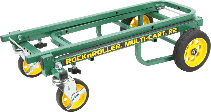 Rock N Roller R2RT-GN MultiCart with R Trac Green - PSSL ProSound and Stage Lighting
