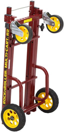 Rock N Roller R2RT-RD Red MultiCart with R Trac Tires - PSSL ProSound and Stage Lighting