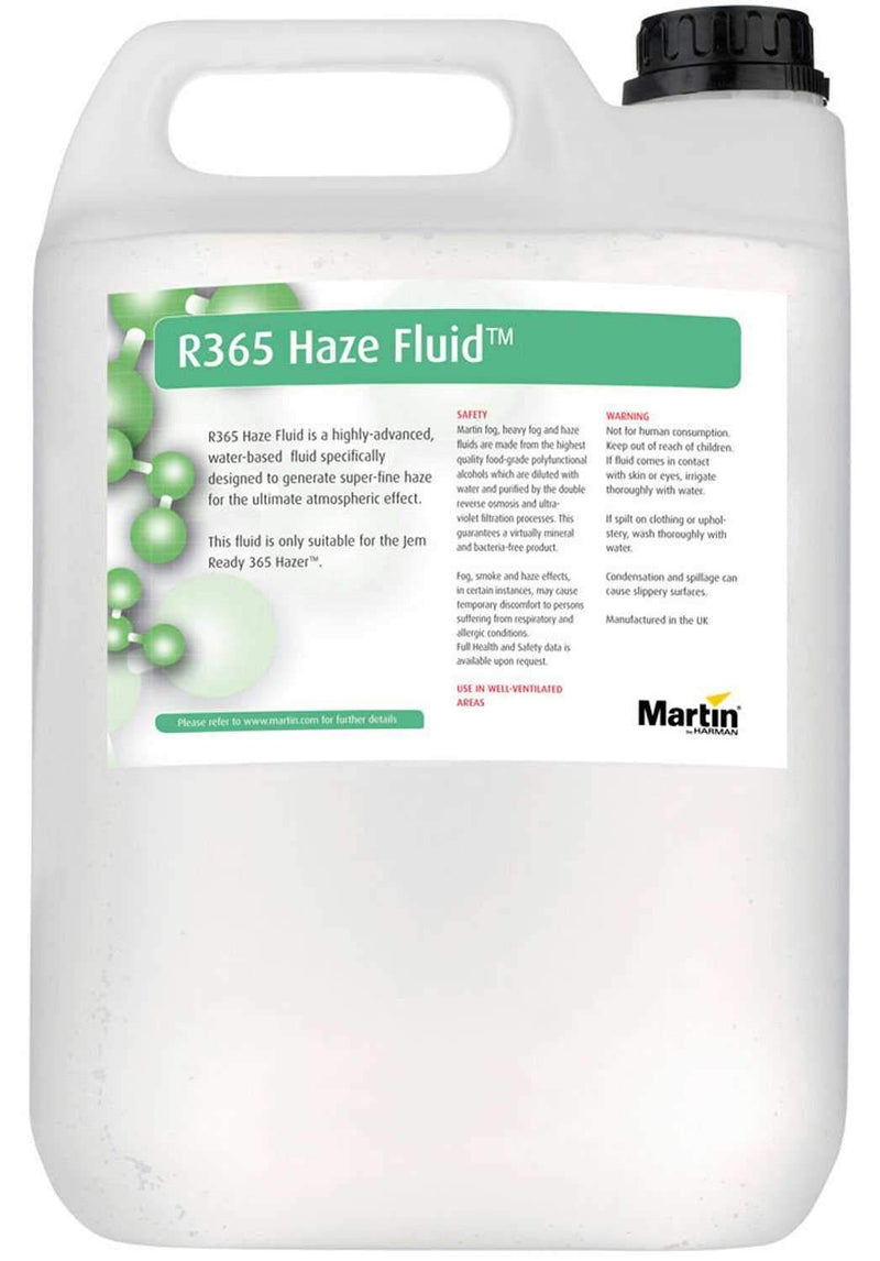 Martin R365 Water-Based Haze Fluid 9.5L/2.5 gal - PSSL ProSound and Stage Lighting