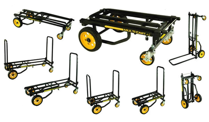 Rock N Roller R6RT Mini Equipment Cart Dolly 500Lb - PSSL ProSound and Stage Lighting
